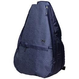 Chic Slate Tennis Backpack
