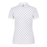 Alternate View 5 of Short Sleeve Polka Dot Tech Polo Shirt