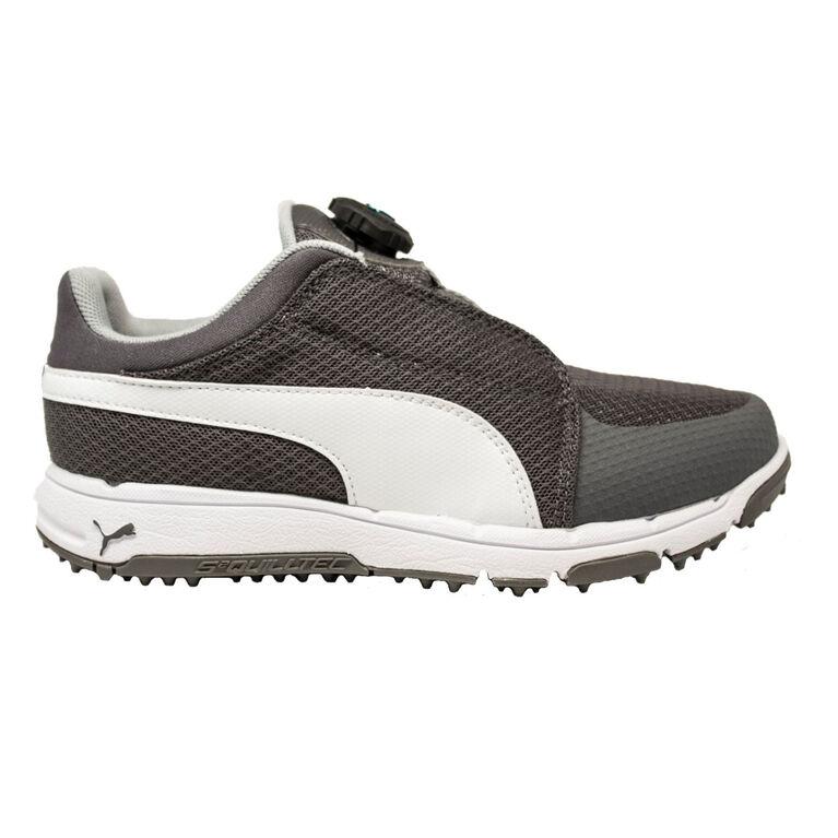 PUMA Grip Sport Disc Junior Golf Shoe - Grey/White