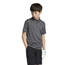 Boys Control Stripe Polo