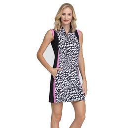 Meadow Collection: Jackie Animal Print Sleeveless Dress