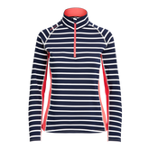 Alternate View 4 of Long Sleeve Striped Quarter Zip Pullover