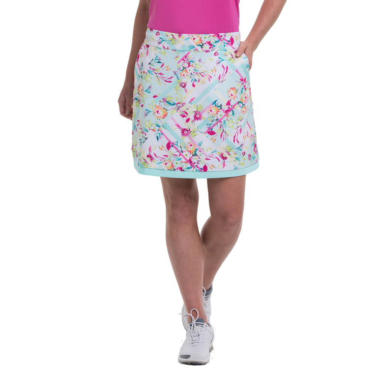 To Dye For Collection: Floral Patch Print Skort