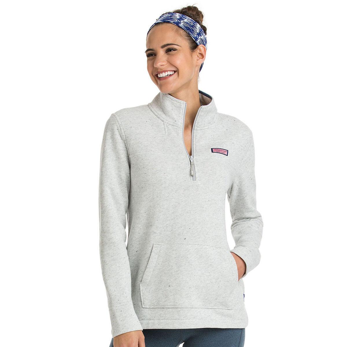 44464b552050af Vineyard Vines Heathered Pouch Pocket Shep Shirt | PGA TOUR Superstore