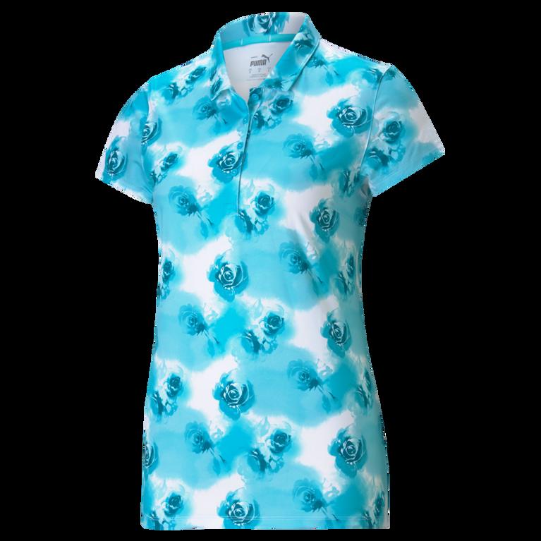 CLOUDSPUN Short Sleeve Watercolor Polo Shirt