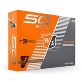 Fifty Elite Orange Golf Balls