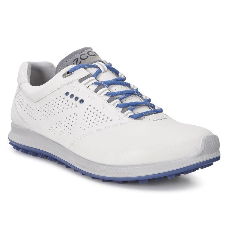 ECCO BIOM Hybrid 2 Perf Men's Golf Shoe - White/Blue