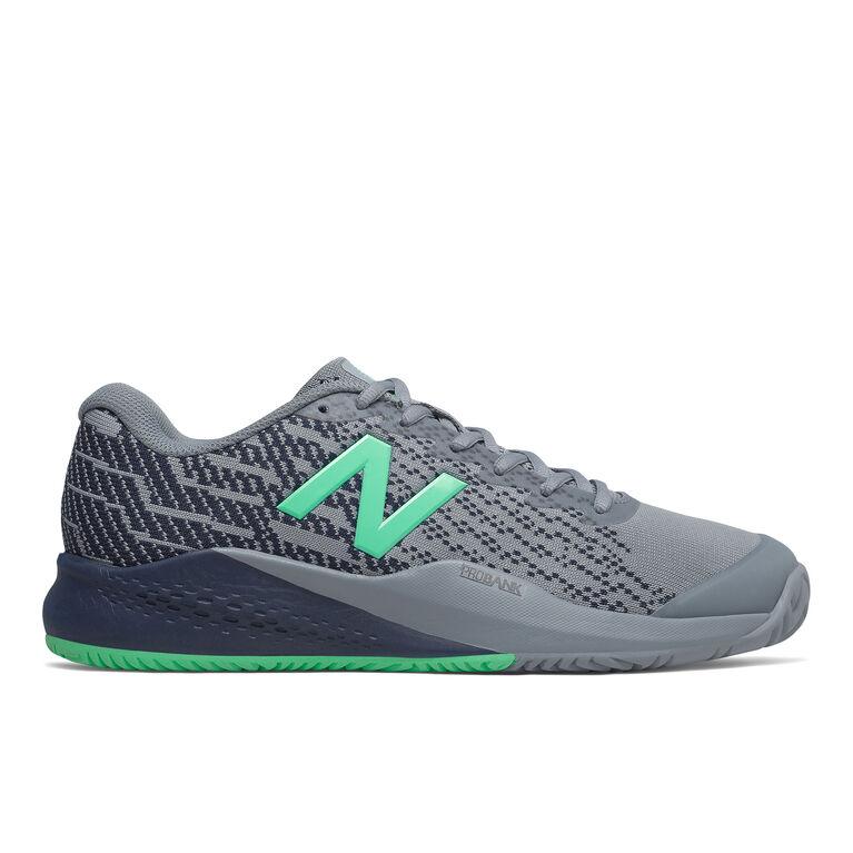 996v3 Men's Tennis Shoe - Grey/Navy