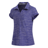 Alternate View 1 of Short Sleeve Space Dyed Girls Polo Short