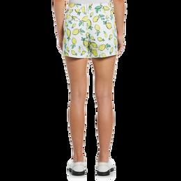 Summer Lemon Collection: Lemon Print Golf Short