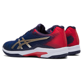Alternate View 2 of Solution Speed FF Men's Tennis Shoes - Navy/Red