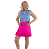 """Rojito Collection:  Knife Pleat 15"""" Golf Skort"""