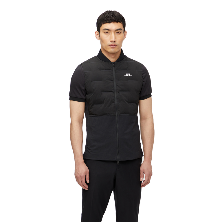 Shield Quilted Full Zip Vest
