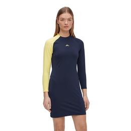 Lise Long Sleeve Color Block Dress