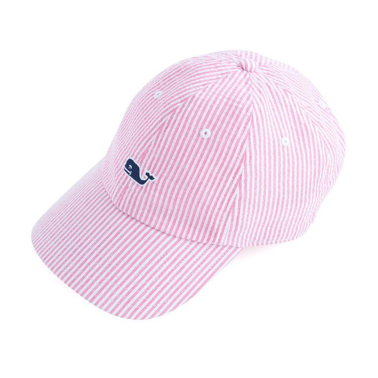 Vineyard Vines Washed Seersucker Baseball Hat