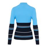 Alternate View 5 of Berthe Long Sleeve Block Stripe Sweater