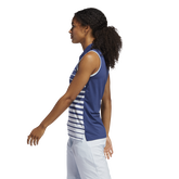 Alternate View 2 of Striped Sleeveless Polo Shirt