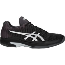 Asics Solution Speed FF Men's Tennis Shoe - Black/Silver
