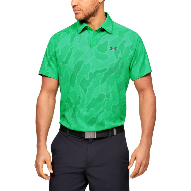 Vanish Jacquard Men's Golf Polo Shirt
