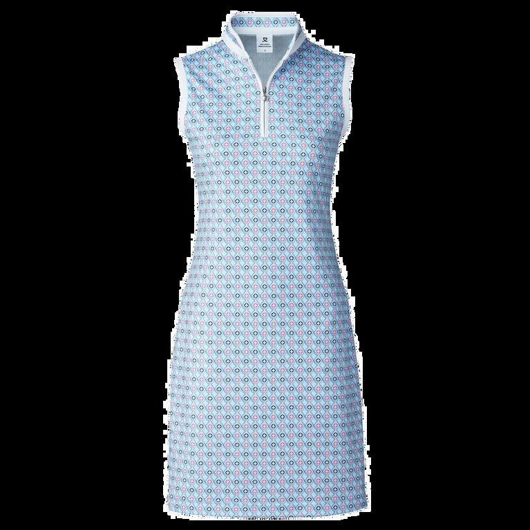 Sue Breeze Sleeveless Printed Dress