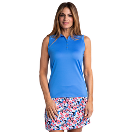 Riviera Collection: Solid Hailey Sleeveless Polo
