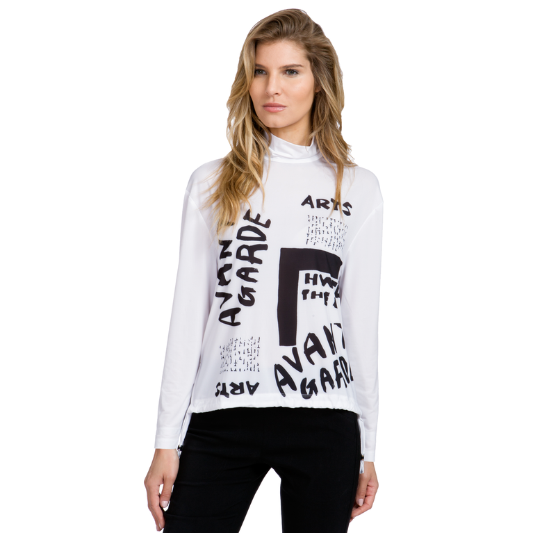 Sunsense: Mock Avant Garde Sweater