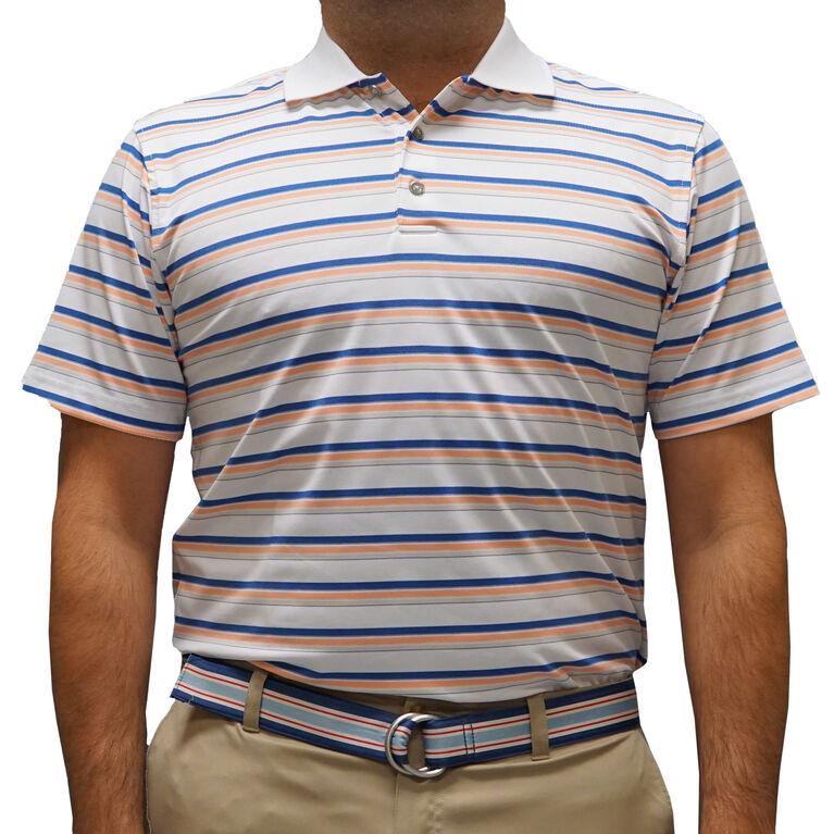 Pebble Beach Jersey Stripe Polo