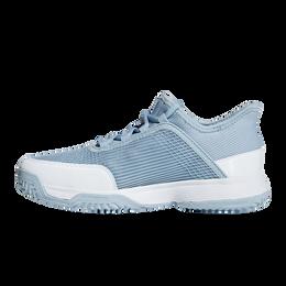 adizero Club Kids Tennis Shoe - Blue/White