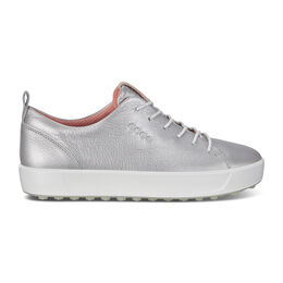 ECCO Golf Soft Low Women's Golf Shoe - Silver