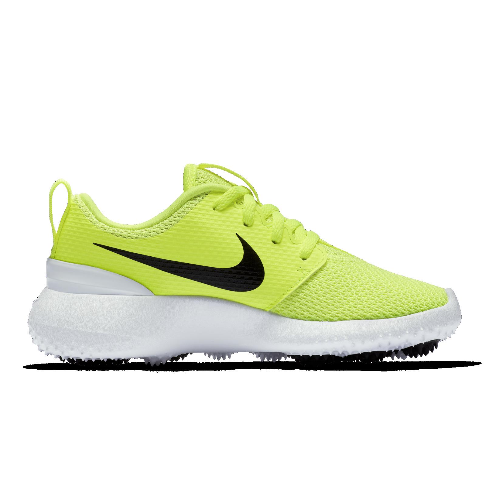 Nike Roshe G Junior Golf Shoe - Yellow