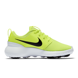 Roshe G Junior Golf Shoe - Yellow/Black