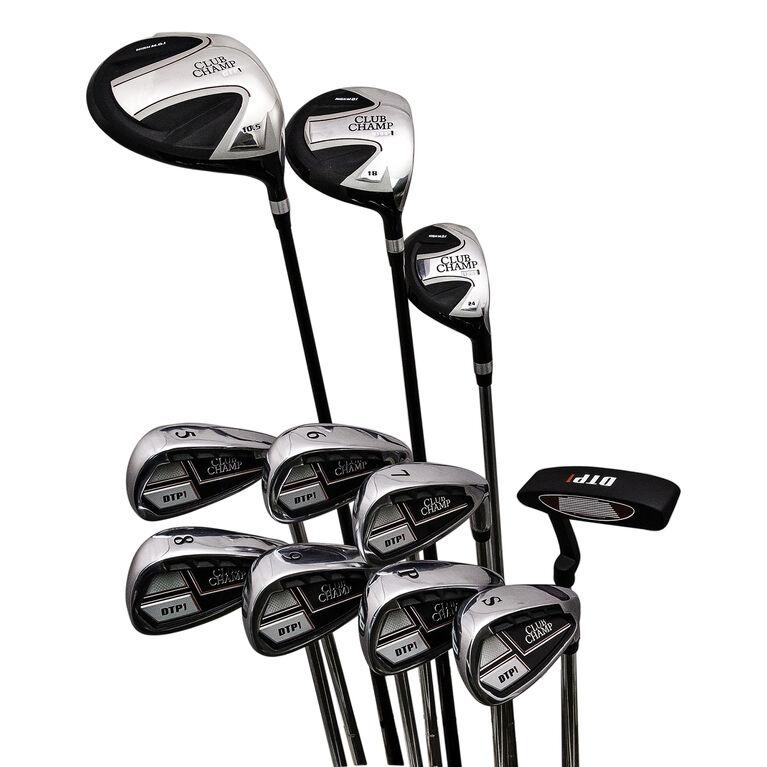 DTP Men's 11-Piece Golf Club Set