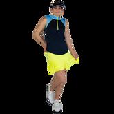 Alternate View 1 of Limonata Collection: Colorblock Sleeveless Quarter Zip Top