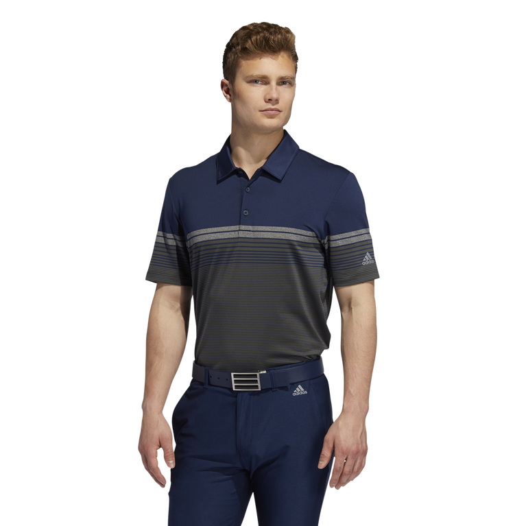 Ultimate365 Gradient Block Stripe Polo Shirt