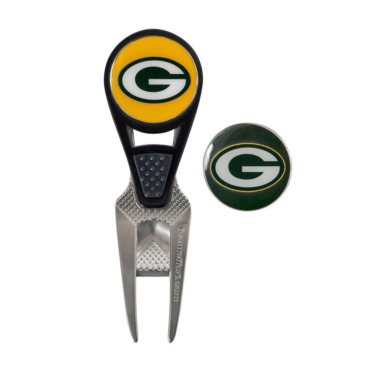 Team Effort Green Bay Packers CVX Ball Repair Tool