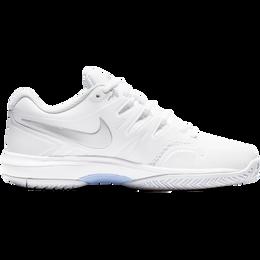 Air Zoom Prestige Women's Tennis Shoe - White/Silver