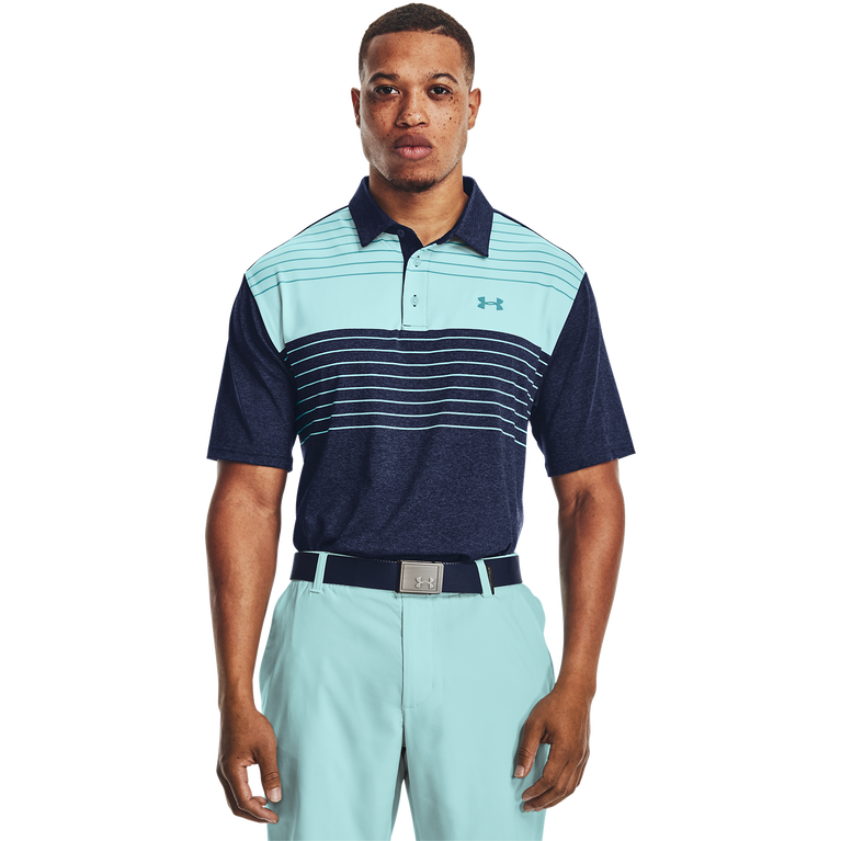 Chest Stripe Playoff Polo 2.0