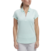 Limelight Collection: Short Sleeve Tonal Stripe Polo
