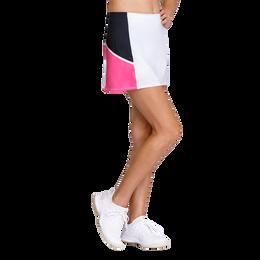 Colorblock A-Line Tennis Skort