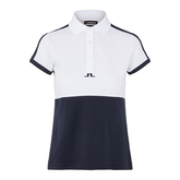 Alternate View 4 of Camille Short Sleeve Color Block Golf Polo