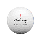 Alternate View 2 of Chrome Soft X Triple Track Golf Balls - Personalized