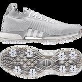 Alternate View 9 of TOUR360 XT Primeknit Men's Golf Shoe - Grey/White