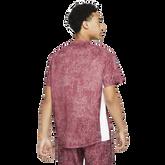 Alternate View 4 of NikeCourt Dri-FIT Victory Men's Printed Short Sleeve Tennis Top