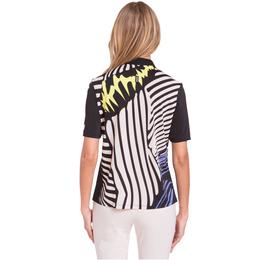 Blah Blah Blah Collection: Short Sleeve Zebra Print Polo