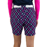 """Alternate View 4 of Rojito Collection: Playoff Plaid 7.5"""" Golf Short"""