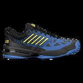 K-Swiss Knitshot Men's Tennis Shoe - Black/Blue