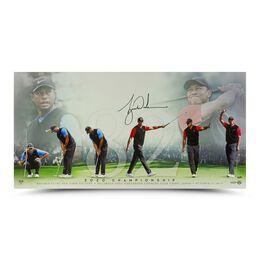 "Tiger Woods Autographed ""82"""