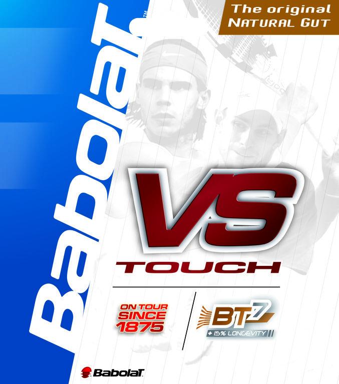 Babolat VS Touch 16 Gauge String-Black