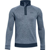 Alternate View 4 of UA Storm SweaterFleece ½ Snap Boys' Golf Long Sleeve Pullover