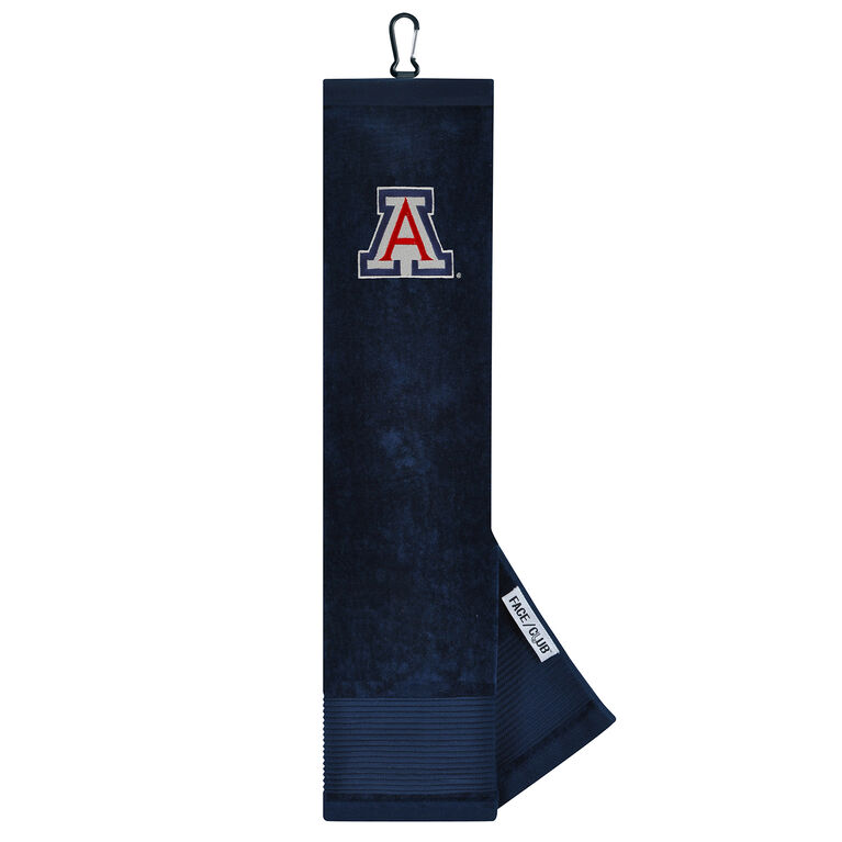 Team Effort Arizona Wildcats Tri-Fold Towel